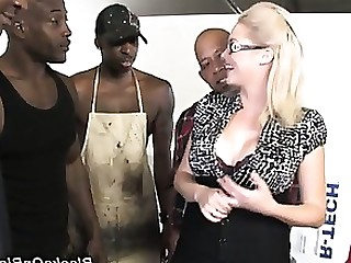 Blonde Blowjob Gang Bang Hardcore Interracial MILF Pornstar