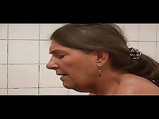 18-21 Bathroom Granny Mature