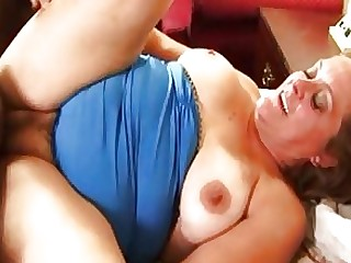 Chinese Couple Fuck Granny Interracial MILF