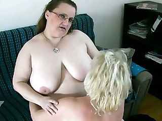 Blonde Brunette BBW Granny Horny Lesbian Mature Solo