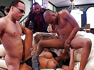 Anal Black Bus Busty Couch Double Penetration Ebony Innocent