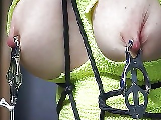 BDSM Blonde Mature Punished Slave