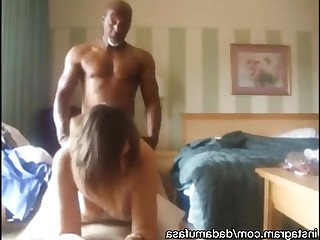 Amateur Cash Big Cock Creampie Daddy Doggy Style Interracial Mammy