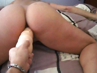 Amateur Ass Blonde Crazy Dildo Fatty Fisting Hardcore