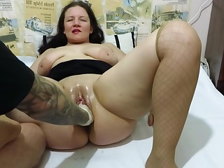 Amateur Big Tits Boobs Couple Fetish Fisting Homemade Mammy