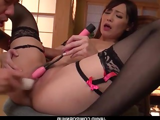 Anime Black Big Cock Dildo Fingering Gorgeous HD Housewife