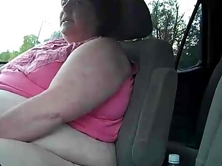 Amateur Car BBW Fatty Masturbation Mature MILF Orgasm