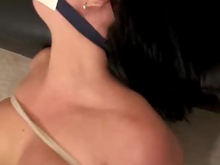 BDSM MILF Mouthful Slave