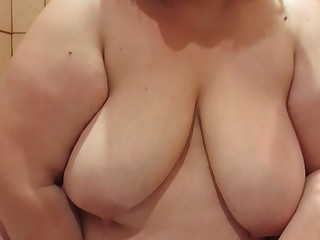 Amateur Big Tits Boobs Dildo BBW Fatty Fetish Fuck