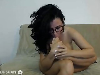 Ass Big Tits Boobs Brunette Feet Foot Fetish Hot Licking