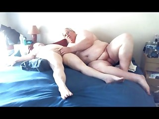 Amateur Daddy Double Penetration Fuck Granny Mammy