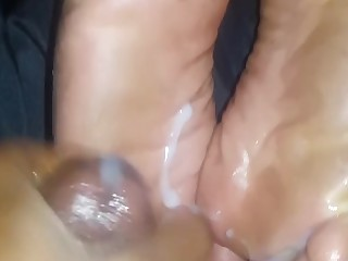 Amateur Cum Cumshot BBW Feet Fetish Foot Fetish Mature
